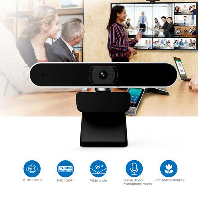 New 1080P HD PC Laptop Camera USB Webcam Video Calling Web Cam With Microphone