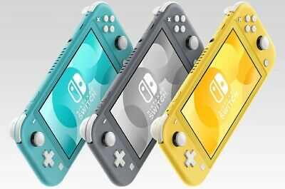 NEW Nintendo Switch Lite Handheld Console - Turquoise - Gray - Yellow PICK COLOR