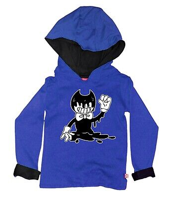 Stardust Ethical Kids Boys Girls Bendy & And The Ink Machine Hoody Hoodie