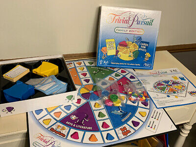 Trivial Pursuit Family Edition Game Excellent And Complete
