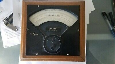 Vintage Microammeter Sensitive Research Instrument Corporation