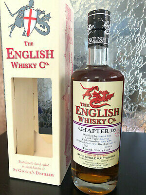 The English Whisky Co. Chapter 16 Whisky Rarität