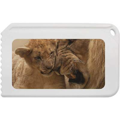 'Lion & Cub' Plastic Ice Scraper (IC00001821)