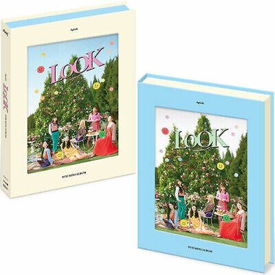 APINK LOOK 9th Mini Album RANDOM CD+Photo+P.Book+3 Card+Stand+Sticker A PINK