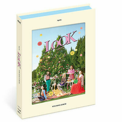 APINK LOOK 9th Mini Album YOS VER CD+Photo+P.Book+3 Card+Stand+Sticker A PINK