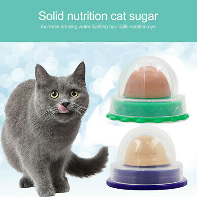 Help Digestion Cat Snack Candy Catnip Sugar Licking Solid Nutrition Energy Ball