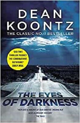 The Eyes of Darkness By Dean Koontz NEW (Paperback) 9781472240293 Fiction Book