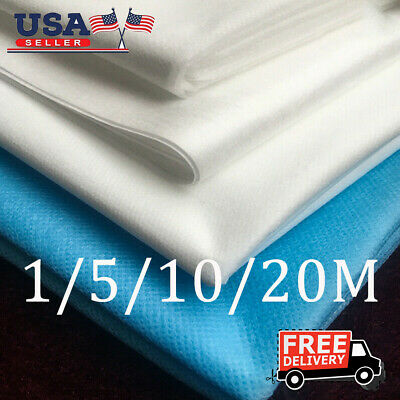 US Melt-blown Nonwoven DIY Fabric Mouth Face Craft Filter Interlining1/ 5/10/20M