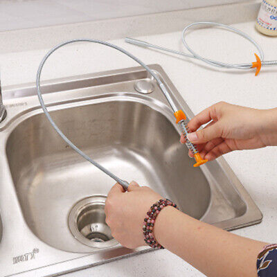 Kitchen Sewer Pipes Strong Pipeline Dredge Toilet Cleaning Tool Hair Remover