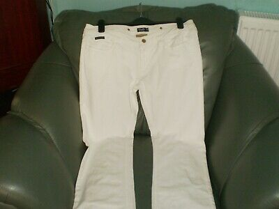 """Trousers """"D&G"""" Dolce&Gabbana Cool Woman Fit Tight White Size: 30 Eur Good Condit"""
