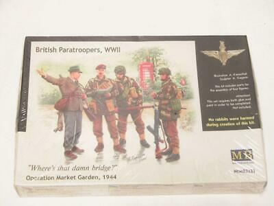 2 Master Box MB 1//35 3534 WWII British Paratroopers Operation market Garden
