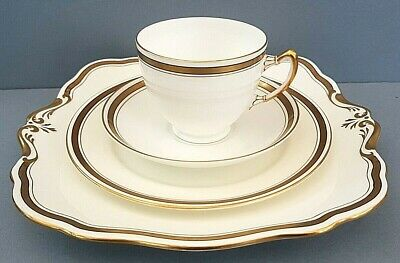 Antique Art Deco Paragon Star 4-Piece English China Tea Set
