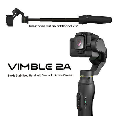 FeiyuTech Vimble 2A Gimbal 3-Axis Stabilizer Selfie Stick for GoPro HERO 7/6/5