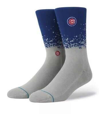 Stance Womens Cubs Tall Boot Socks Red M
