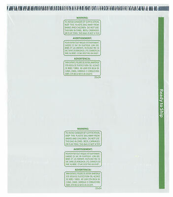"""Plymor Ready to Ship 1.5 Mil Wicketed Plastic Bags, 22"""" x 24"""" (Case of 300)"""