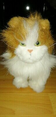 FURREAL FRIENDS LARGE Lulu Cat Ginger & White Interactive