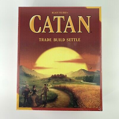 Catan CN3071 Standard Board Game 3-4 Player Game