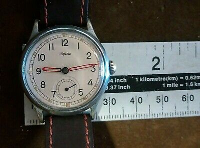 Mens Vintage Alpina wristwatch Cal. 586 sub second dial gwo