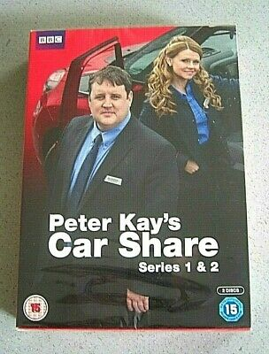 Peter Kay's Car Share Complete Series 1 & 2 Dvd ***New & Sealed/Free Delivery***