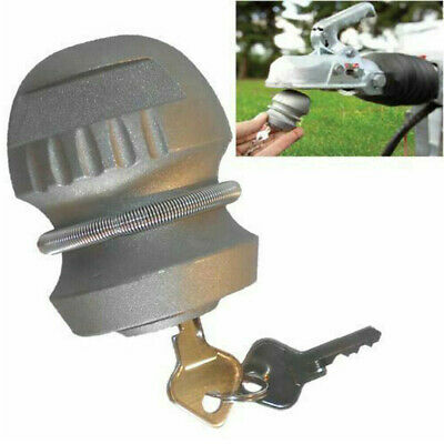 Universal Hitchlock Caravan Trailer Hitch Coupling Tow Ball Lock High Security