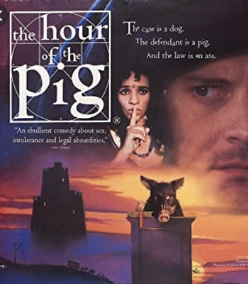 Hour of the Pig DVD RARE multi region import Colin Firth - Ian Holm