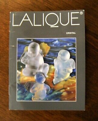 Lalique Cristal Catalogue - Book/Brochure Collection - Circa 1990 - Fr/Eng -