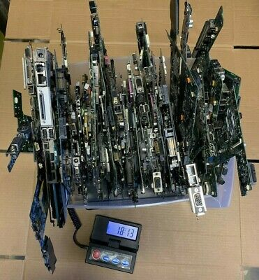 18 LBS Scrap Computer Motherboards for Gold Recovery