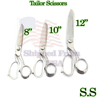 """8/"""" HEAVY DUTY CARPET FABRIC LEATHER UPHOLSTERY TAILOR SCISSORS SHEARS"""