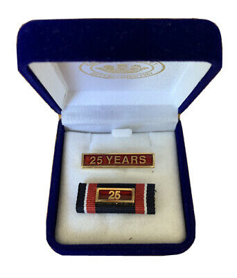 Ambulance Victoria 25 Year Service Badge