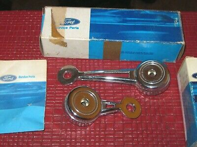 NOS 1968-1970 Ford LTD,Custom,Galaxie vent,and Window Handle lot