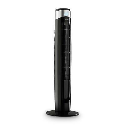 Ventilatore Torre Colonna Design Display LED 6 Livelli Timer Oscillazione 80°