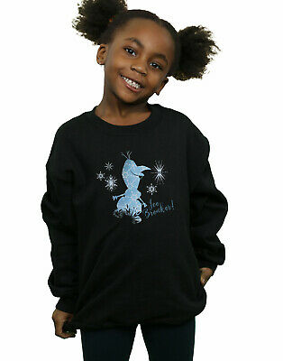 Disney Girls Frozen 2 Olaf Ice Breaker Sweatshirt