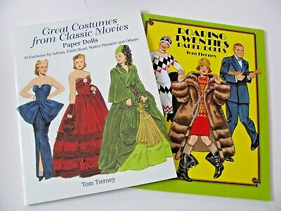 Paper Dolls by Tom Tierney,  Great Costumes from Classic Movies, Roaring Twentie