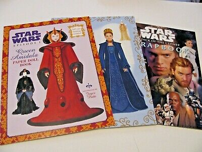 Star Wars – 2 paper doll books, 1 scrapbook