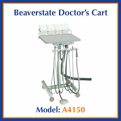 Beaverstate Dental 3 HP Automatic Doctor's Cart with Vacuum A-4150