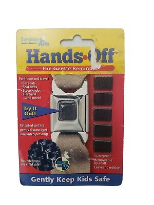 Car Seat Button Guard - Hands off 'The Gentle Reminder'