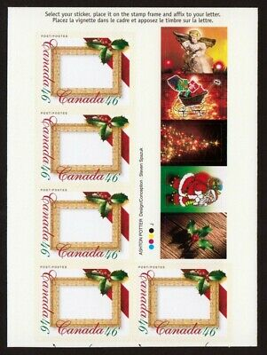 PICTURE POSTAGE = CUT BOOKLET PANE = Canada 2000 #1872a MNH