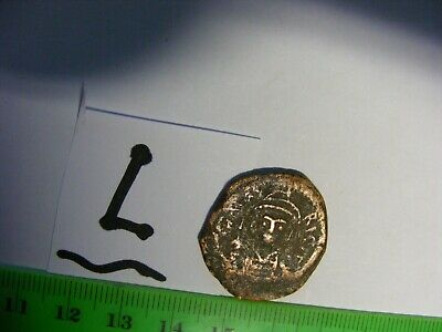 BYZANTINE  Empire.. Large Coin..20 Nummi...used..... .Eastern Roman Empire(L)