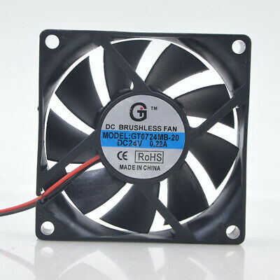 1pcs New GT 7CM 24V 0.22A 7020 GT0724MB-20 1.5KW Inverter Fan