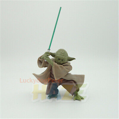 """Star Wars The Force Awakens Yoda Fencing Style 5"""" Action Figure Model Toy"""