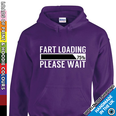 Fart Loading Funny Kids Boys Girls Hoodie - Childrens Fart Trump Christmas