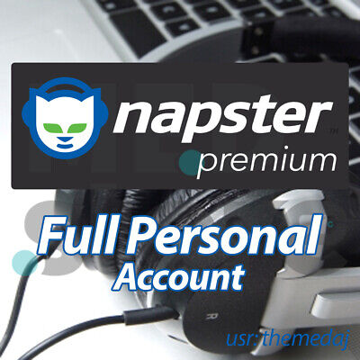 Napster Premium ACCOUNT ✅ 3 Months ✅ FAST SHIPPING WORLDWIDE 🔥