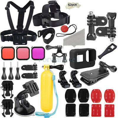 Gopro Accessories Outdoor 52-in-1 Kit Accessory for GoPro Hero 8 7 6 5 4 3Camera