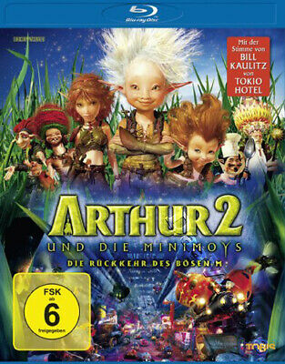 Arthur And The Invisibles Arthur Revenge Of Maltazard New Blu Ray 2 Disc Set 29 99 Picclick
