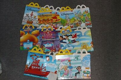 MCDONALDS HAPPY MEAL TOY COLLECTOR BOX ONLY EMPTY NEW OLD STOCK - Various SINGLE