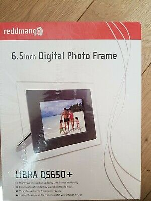"New Sealed Reddmango Libra QS659+ Digital Photo Frame 6.5"" Display"