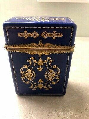 Exquisite antique sewing case