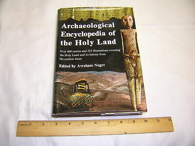 Archaeological Encyclopedia of the Holy Land by Avraham Negev (hardcover, 1972)