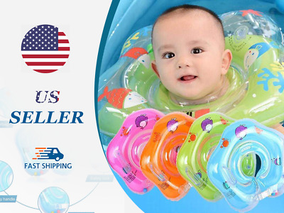 Cute Baby Toys Mini Swimming Ring For Doll Toy Gift Super Tool Blue Plastic W1Y2