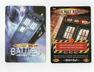 DR WHO DEVASTATOR CARD 1066 PECK